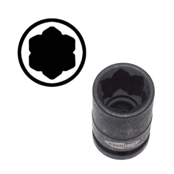 000-5407 17mm Wheel Lug Socket