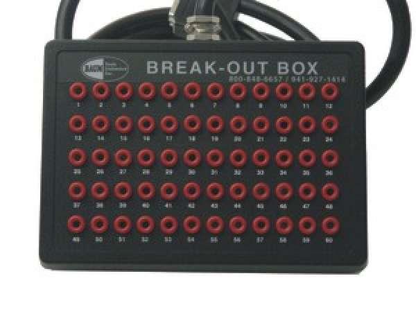 A0201 BREAK-OUT BOX - 60-PIN W/CASE
