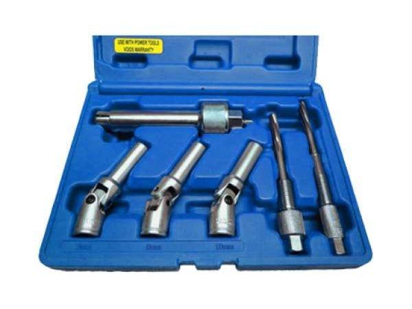 B606-0053KIT GLOW PLUG PULLER AND REAMER SET